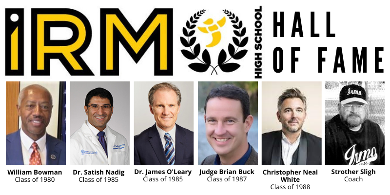 Irmo High School announces 2020 Hall of Fame Inductees and ceremony details